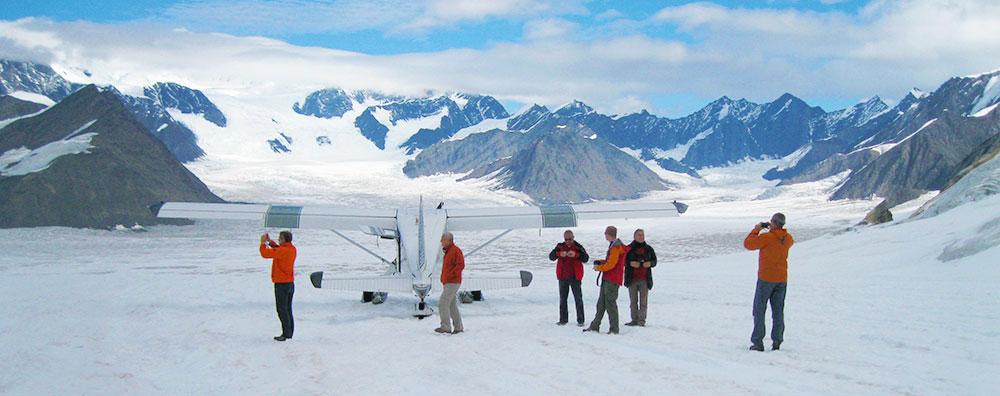 Denali Glacier Landing Tours