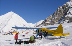 Kahiltna Glacier / Denali Base Camp Flights