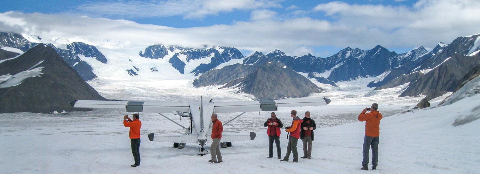 Ruth Glacier Basecamp - Denali
