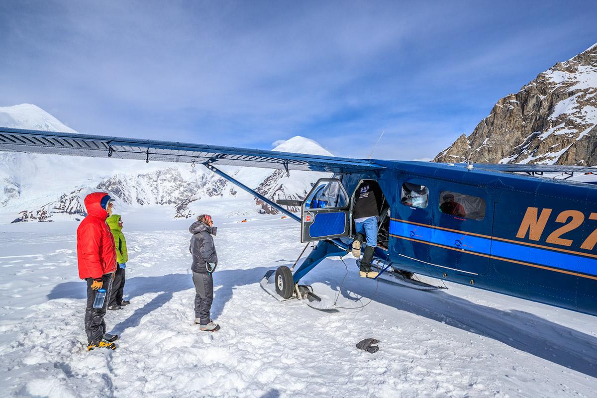 Kahiltna Glacier Basecamp Denali Climbing