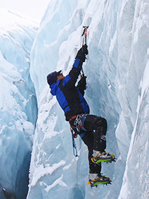 Helping climbers summit Alaska