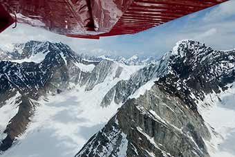 Denali Grand flightseeing Tour with Sheldon Air Service.